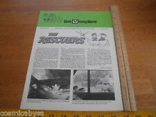 7/8/1977 Eyes and Ears of Walt Disney World employee news The Rescuers review