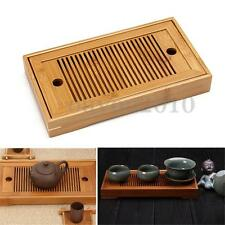Portable Tasteful Bamboo Chinese Gongfu Tea Table Serving Tray For Home Garden