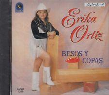ERIKA ORTIZ BESOS Y COPAS CD NEW NUEVO SEALED