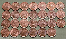 1997 TO 2012 PENNY SET RED AU/UNC (27 COINS)          FREE $HIPPING IN CANADA!