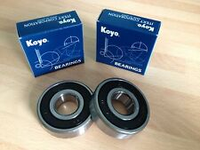 YAMAHA TDR125 R 93-94 SR250 SE 80-94 KOYO REAR WHEEL BEARINGS OEM QUALITY