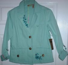FALL/ WINTER  Ladies Dress Jacket - 100% Cotton (Med) .. New w/ Tag