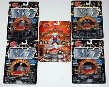 KISS Psycho Circus 5pc Racing Champions Diecast Car Prowler Set Gene Simmons Ace