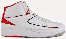 2014 Nike Air Jordan 2 II Retro BG GS SZ 4.5Y White Varsity Red OG 395718-102