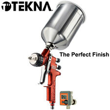 Devilbiss TEKNA COPPER High Efficiency SPRAY GUN 1.3 1.4 TIPS Gravity Cup 703662