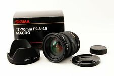 SIGMA DC 17-70mm f/2.8-4.5 MACRO [Excellent++] For PENTAX w/Box F/S 139533