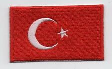 Embroidered TURKEY Flag Iron on Sew on Patch Badge HIGH QUALITY APPLIQUE