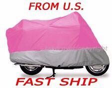 KAWASAKI Vulcan 900 LT Motorcycle Cover X6 Pink