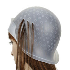 Reusable Silicone Dye Hat Cap for Hair Color Highlighting Hairdressing Meal SPUS