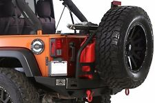 Smittybilt 76896 XRC Atlas REAR Bumper With Tire Carrier 07-16 Jeep Wrangler JK