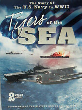 Tigers of the Sea,  2 DVD SET ,US NAVY IN WW11,BATTLE ALANTIC/ PACIFIC FREE SHIP