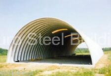 DuroSPAN Steel Q30x50x14 Metal Barn Open Quonset Building Farm Structures DiRECT