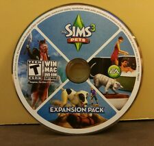 SIMS 3 PETS EXPANSION (PC) EXCELLENT CONDITION (DISC ONLY) NO CODE #053