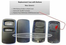 Case Shell Buttons Keyless key fob Galant remote 525M entry transmitter clicker