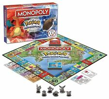 Pokemon Kanto Region Monopoly Collectors Edition Family Board Game Nintendo NIB