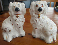 Vintage Pair of Hand Painted Staffordshire  Dogs by Beswick.-IMPRESSED 1378-6