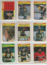 1982-83 O-Pee-Chee Pittsburgh Penguins team set