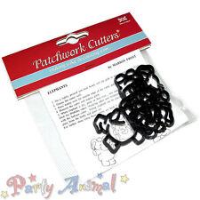 Sugarcraft Patchwork cutters- Elephants Cutter Set