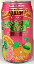 "FULL 11½oz Can ""Taste of Hawaii"" Hawaiian Sun Natural ""Pass-O-Guava"" Nectar"