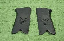 Custom Grips for Ruger P85, P89, P90 & P91 Black Skull