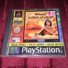 Moses Prince of Egypt complete ps1 Playstation Psone