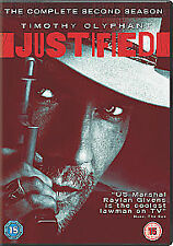 Justified - Complete season 2 DVD - Timothy Olyphant