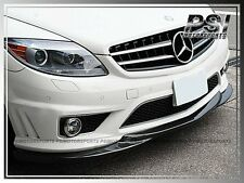 GH Type Carbon Fiber Front Bumper Lip For 06-10 Mercedes-Benz W216 CL63 CL65AMG