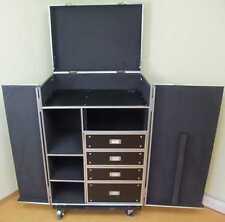 Universal-Schubladen-Case DPC-1, rollbar Tisch Tourcase Roadiecase Transportcase