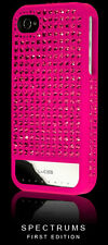 NEW Lucien Elements - SPECTRUMS PINK - iPhone 4 / 4S Case - Swarovski Crystals