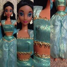 GORGEOUS SPARKLE EYES DISNEY MATTEL JASMIN ALADDIN BARBIE DOLL ~