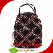 NWT VERA BRADLEY QUILTED LET'S DO LUNCH BUNCH BAG TOTE MINSK PLAID