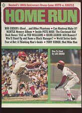 1969 Home Run Baseball Magazine With Pete Rose Cover EXMT