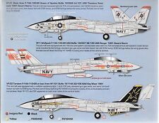Zotz F-14A Tomcat Decals 1/32 079, VF-41 Queen of Spades, VF-1, VF-33  DO