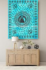 Meditation Buddha Indian Hippie Tapestry Throw Wall Hanging Tapestries Ethnic
