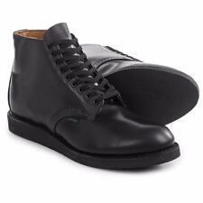 "Red Wing Heritage 9197 6"" Postman Boots Limited Edition Black Leather Mens 9.5 M"