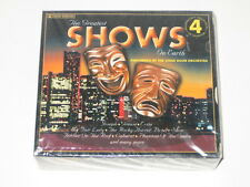The Greatest Shows On Earth 4 Audio CD Set NEW by the Stage Door Orchestra