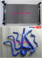 New Radiator for Holden Commodore VT VX WH V6 Twin OilCooler AT/MT + Hose Kit