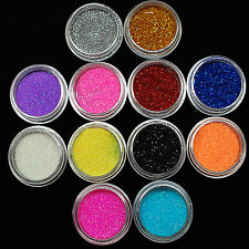 NY 12 Color Box Glitter Shimmer Eyeshadow Eye Shadow Powder Palette Makeup New