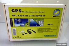Navilock NL-317R RDS, TMC Cable with car Adapter for Satnav Systems, NEW