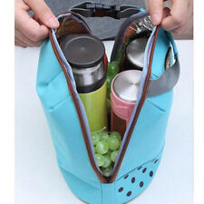 Thermal Insulated Lunch Container Box Tote Cooler Bag Pouch Food Storage Bags