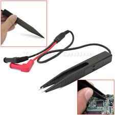 Messpinzette Tester Universal Multimeter Pinzette SMD Bauteile Prüfspitzen Kabel