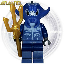LEGO Atlantis Minifigures - Manta Warrior c/w Trident ( 8075 , 8077 , 8059 )