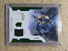 11-12 UD Artifacts Horizontal Jersey Patch #63 NIKITA FILATOV /35