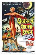 Queen Of Outer Space Poster 01 A3 Box Canvas Print
