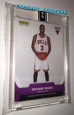 2016-2017 Panini Instant NBA DWYANE WADE  #6/10 PURPLE 1st Card CHICAGO BULLS