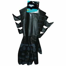 BATMAN Classic Black Dark Knight Adult Size Gauntlets Costume Gloves