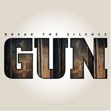 "GUN ""BREAK THE SILENCE"" CD ------11 TRACKS------ NEU"