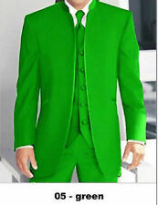 2016 Fashion green Groom Tuxedo Slim Man Suit Wedding Groomsman Best Formal Suit