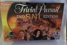 Trivial Pursuit SNL Saturday Night Live DVD Edition Game SEALED