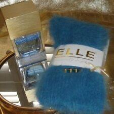 NEW Elle Luxury Angora blue socks fluffy Thermal Ski Winter Sports Arthritis M